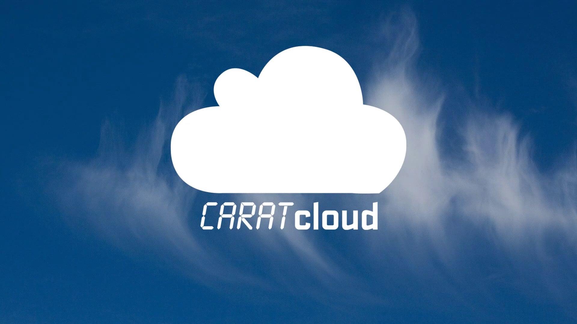 CARATcloud - Die Anmeldung