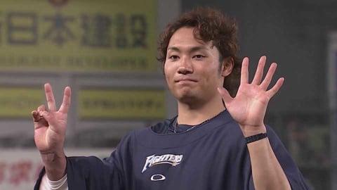 ファイターズ・伊藤投手ヒーローインタビュー 7/9 M-F