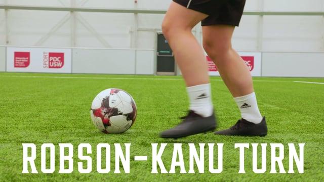 Football Tricks | The Robson-Kanu Turn