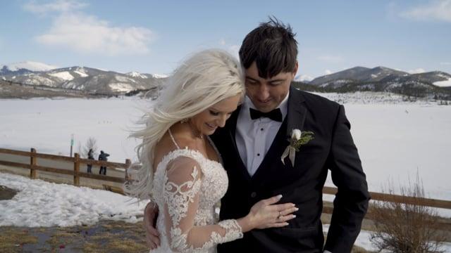 Shandell + Carlos Wedding Elopement Highlights - Dillon CO_032021