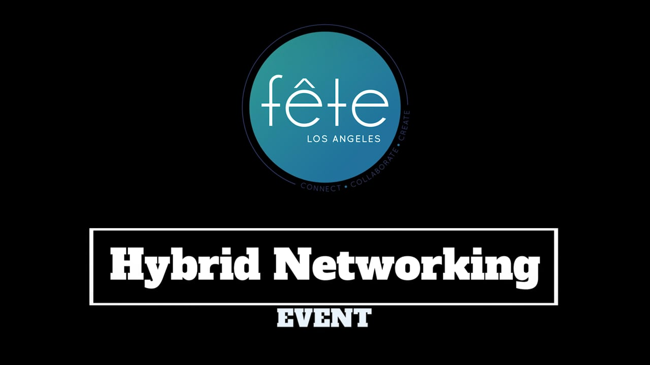 fête Los Angeles Hybrid Networking Event at SoFi Stadium