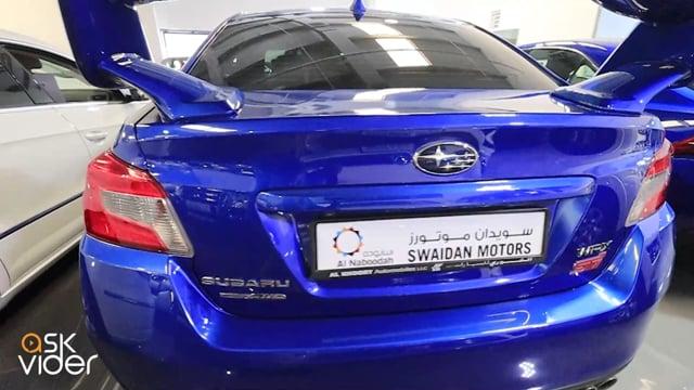 SUBARU WRX STI - BLUE - 2...