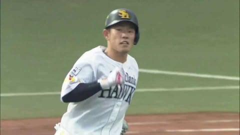 【ファーム】ホークス・増田 今季5号の2ランホームランを放つ!! 2021/7/10 H-B(ファーム)