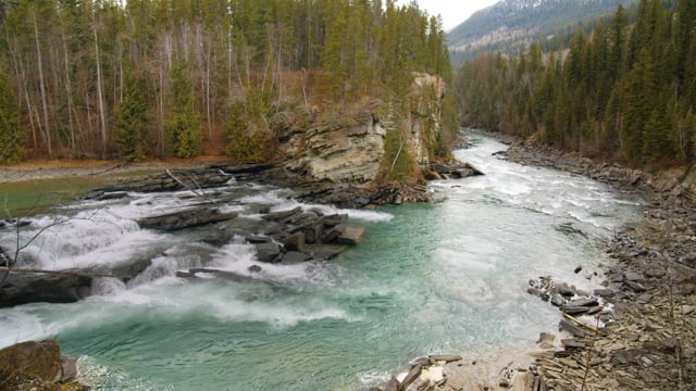 4K Best Scenic Nature Places of Canada - Stunning Rivers. Part 1