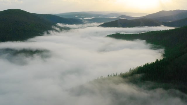 South Ural - View from Above - Aerial Relax Video