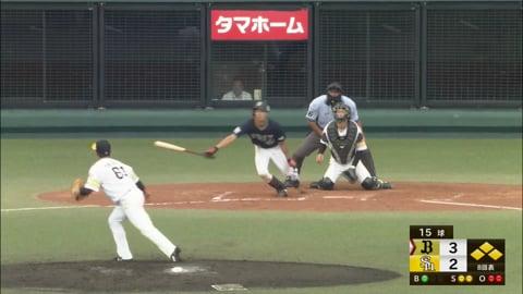 【ファーム】バファローズ・田城 ライトへの2点タイムリーヒット!! 2021/7/11 H-B(ファーム)
