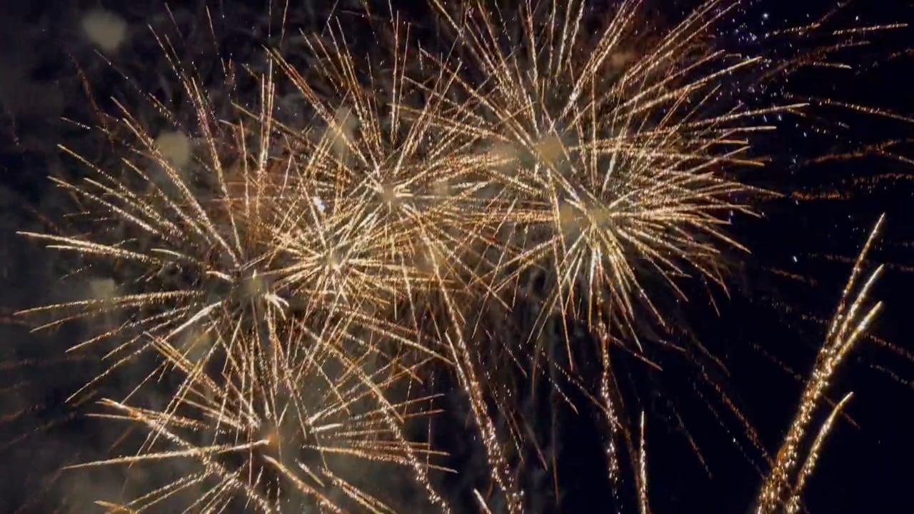War of the Worlds Musical Fireworks