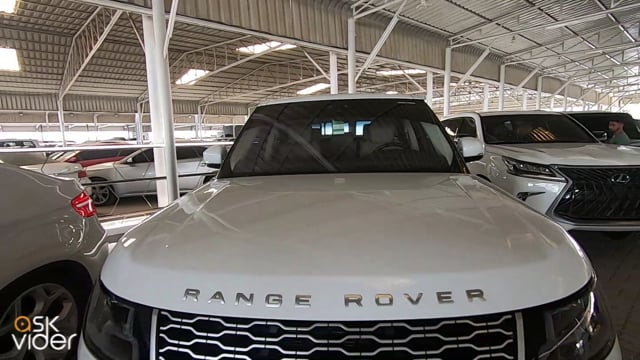 RANGE ROVER VOGUE - WHITE...