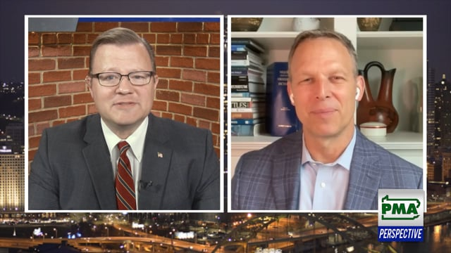 U. S. Rep. Scott Perry Discusses Infrastructure on PMA Perspective