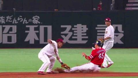 【5回裏】イーグルス・太田 素早い送球で盗塁阻止に成功!! 2021/7/12 H-E