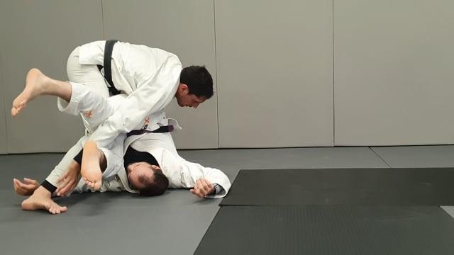 Connexion entre knee slide, stack pass et leg drag