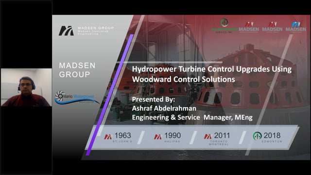 Madsen Controls & Engineering Presents Hydropower Turbine Control Upgrade Using Woodward Control Solutions