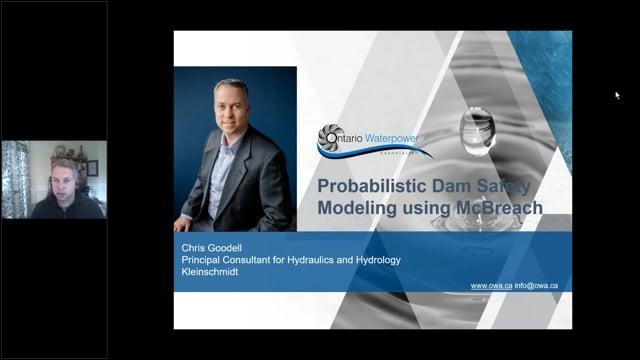 Kleinschmidt Webinar: Probabilistic Dam Safety Modeling using McBreach