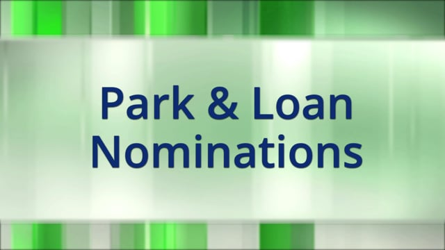 Park and Loan Nominations
