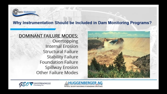 Application of Geotechnical Instrumentation and Monitoring for Dams and Hydropower Structures