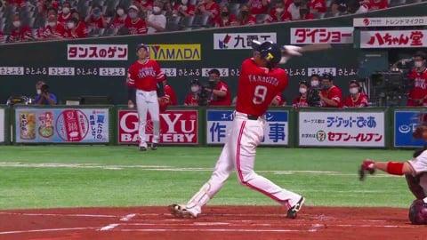 【1回裏】ホークス・柳田 打った瞬間確信の先制ソロホームラン!! 2021/7/13 H-E
