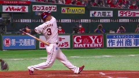 【7回表】イーグルス・浅村 貴重な追加点となる逆方向へのソロホームラン!! 2021/7/13 H-E