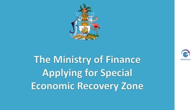 Applying for Special Economic Recovery Zone