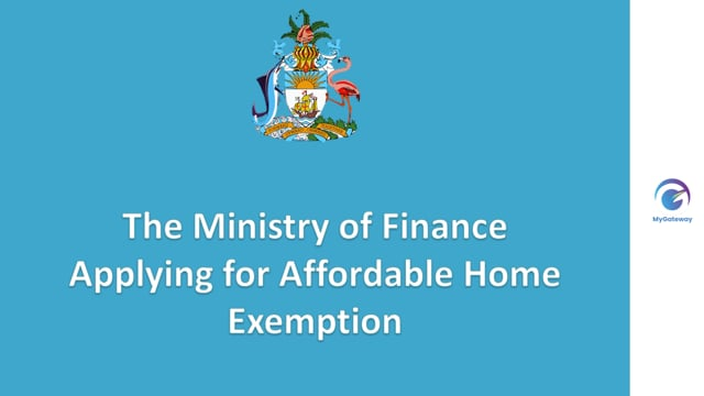 Applying for Affordable Home Exemption