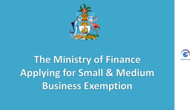 Applying for Small & Medium Business Exemption