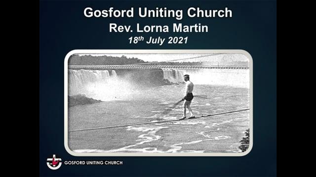 18th July 2021 - Rev. Lorna Martin