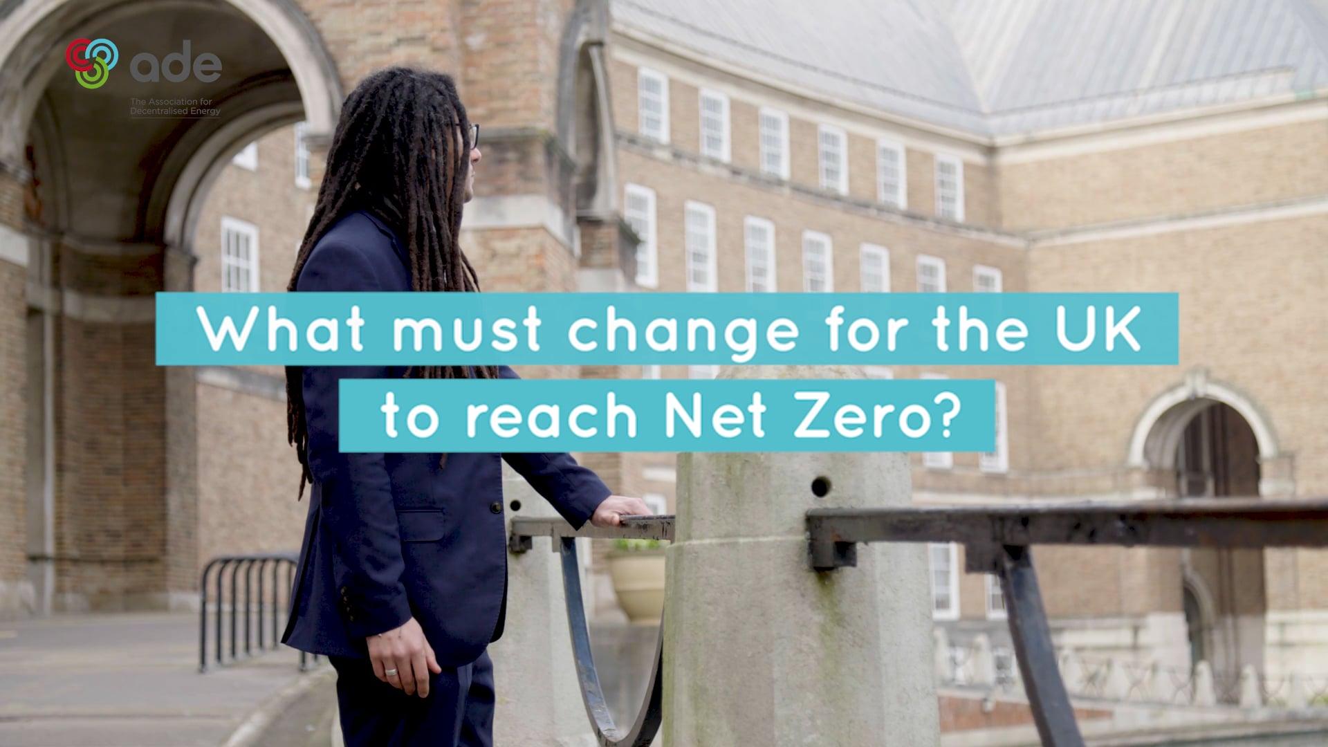 Net Zero and me - James