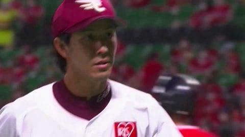 【6回裏】イーグルス・岸が6回2失点7奪三振の好投を見せる!! 2021/7/14 H-E