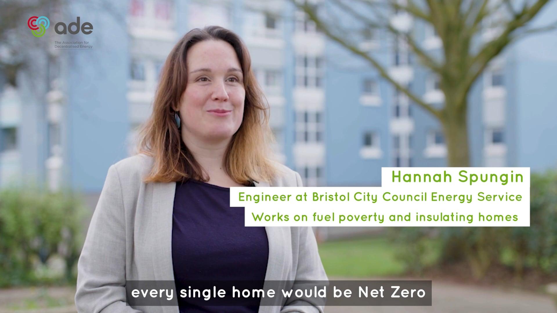 Net Zero and me - Hannah