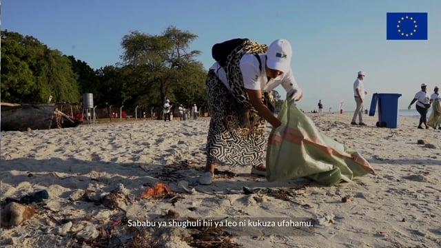 Mazingira Yetu - EU in Tanzania Beach Clean Up 2021