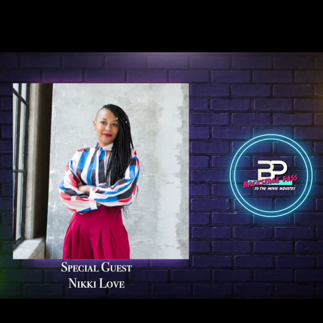 Special Guest, VP of Development and Production at AllBlk, Nikki Love