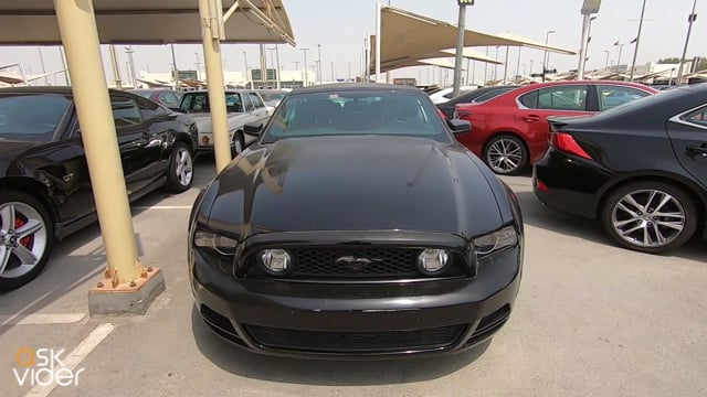 FORD MUSTANG - BLACK - 20...