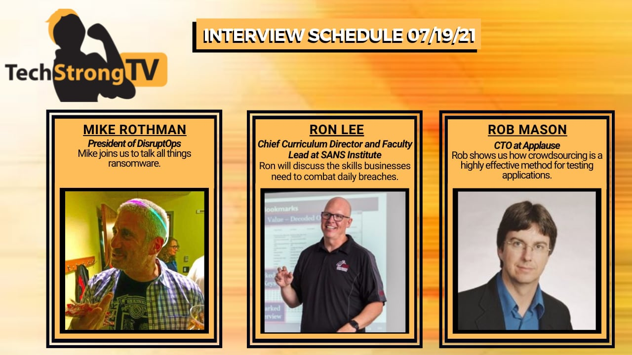 TechStrong TV – July 19 2021