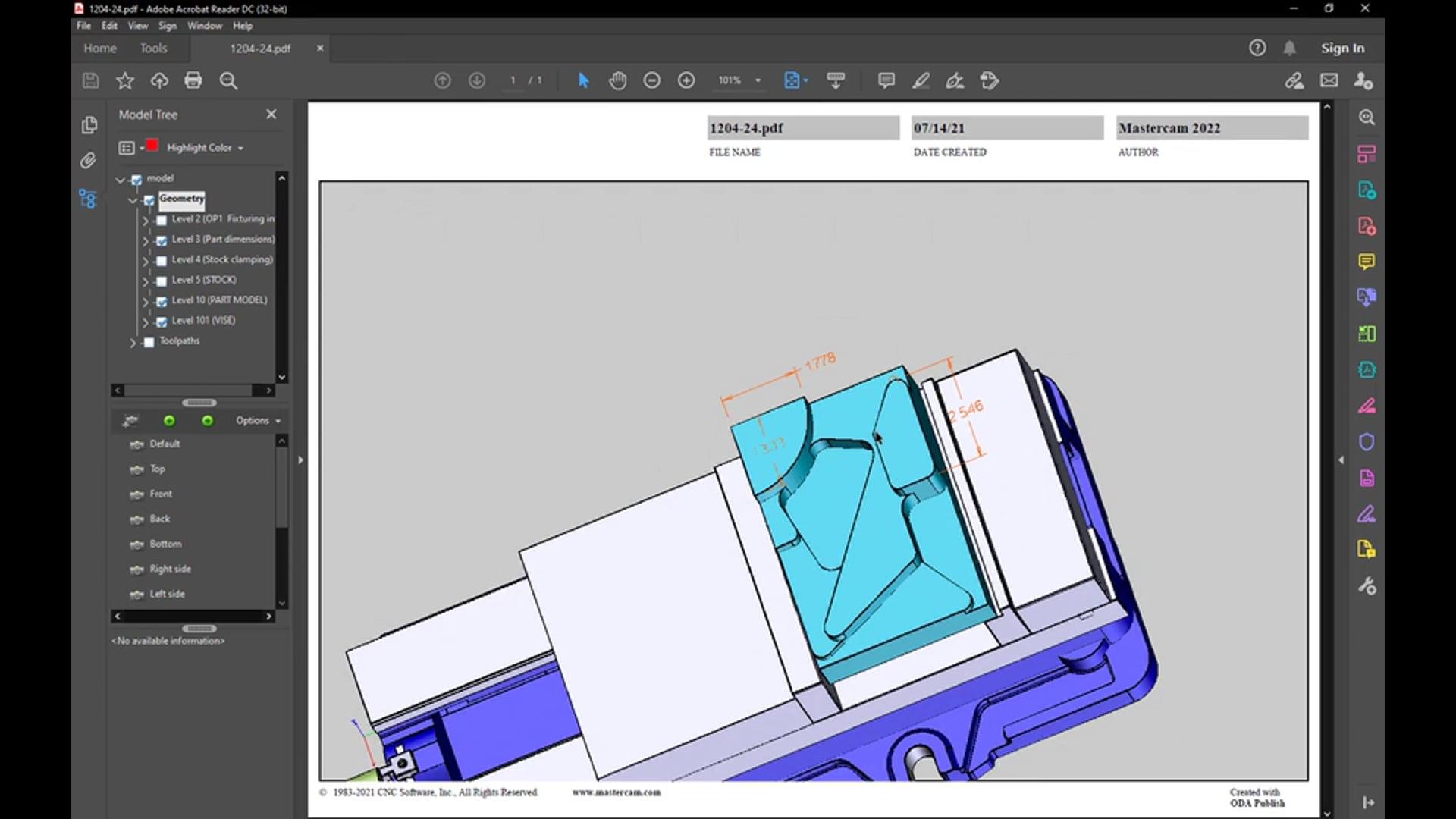 Print to 3D PDF