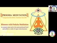 Preksha Meditation by Samniji Jinpragyaji and Samani Kshantipragyaji