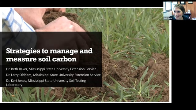 Strategies to manage and measure soil carbon - 6/29/21