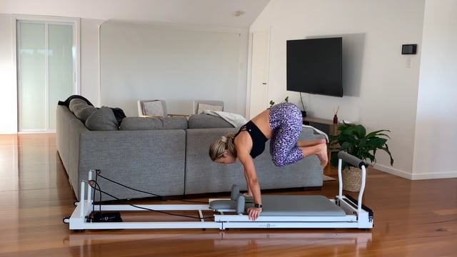 Cardio inspired reformer workout