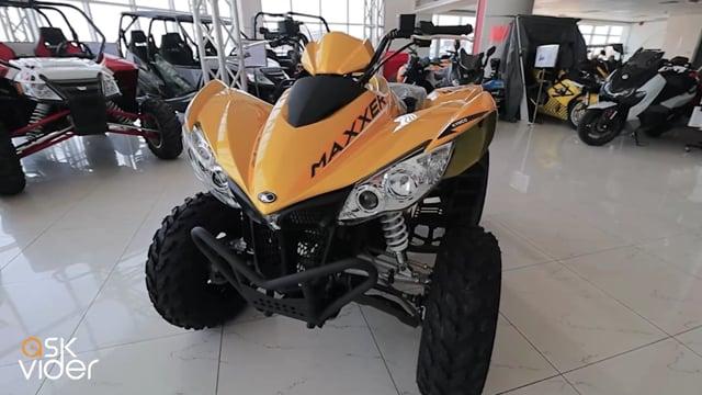 KYMCO MAXXER 450i - YELLO...