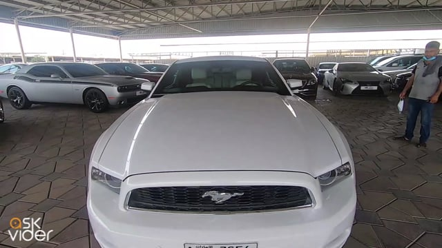 FORD MUSTANG - WHITE - 20...