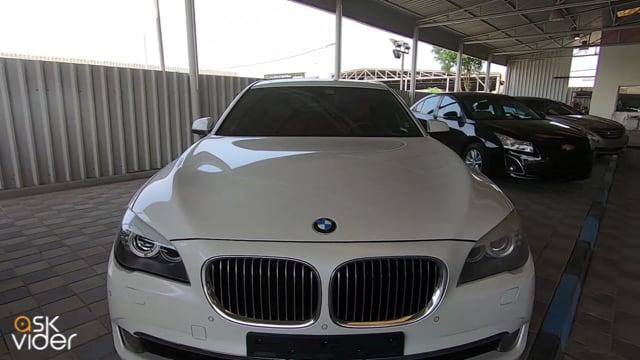 BMW 740Li - WHITE - 2012
