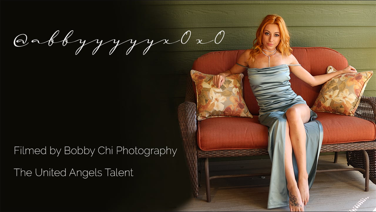 Seductive Abby with Canon C70