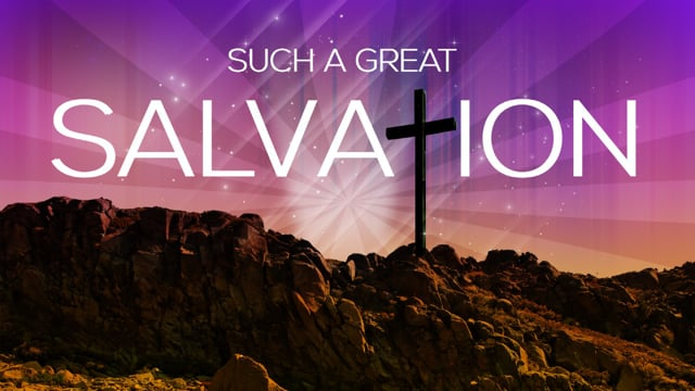 Such a Great Salvation | Ronnie Rodriguez