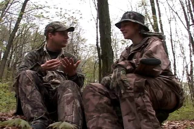 Turkey hunt with Vermont Guard members