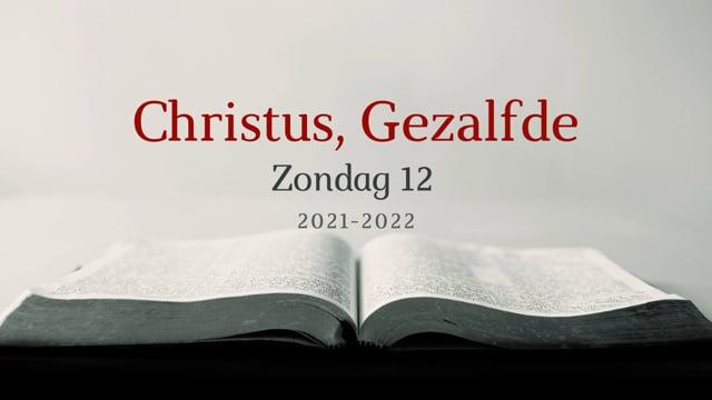 Preek Catechismus Zondag 12    Ds. J. IJsselstein