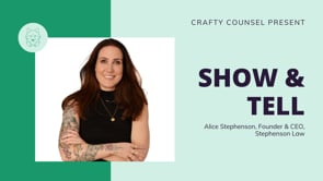 Show & Tell with Alice Stephenson
