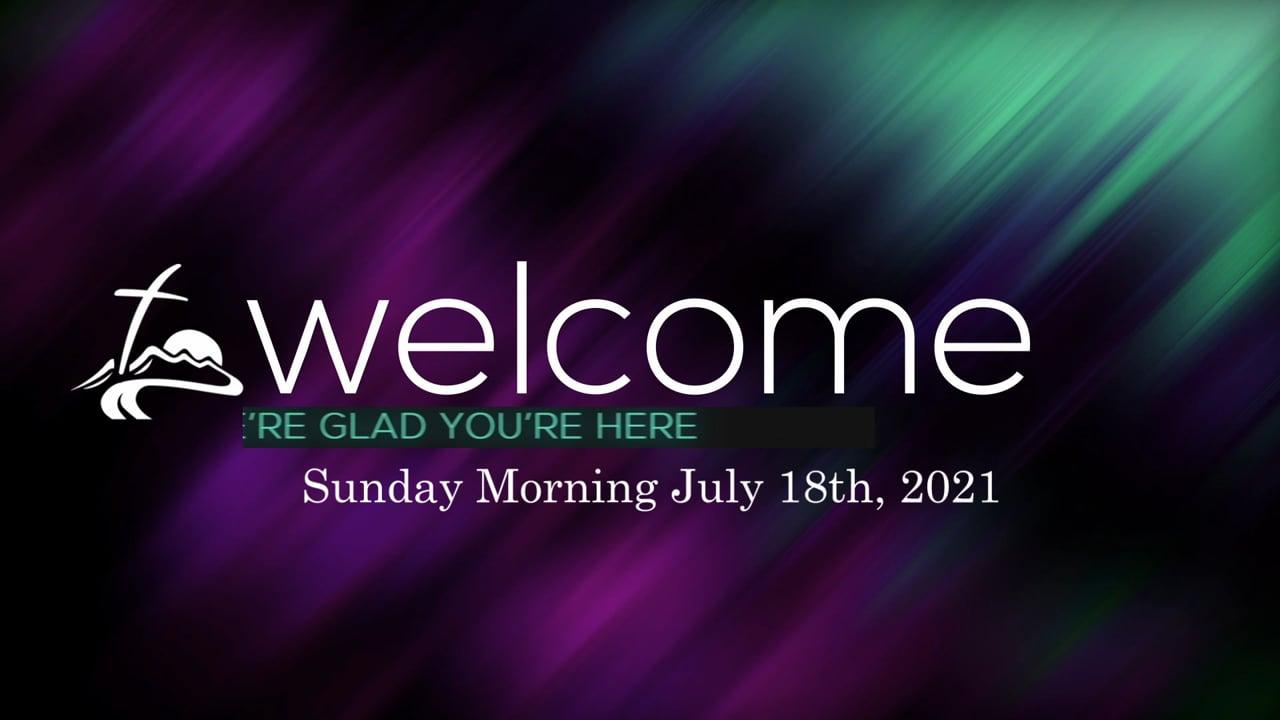 Sunday Morning July 18th, 2021.mp4