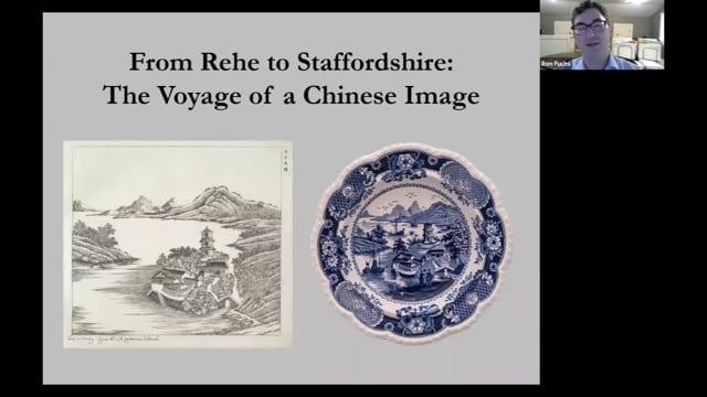 From Rehe, China to Staffordshire, England; The Voyage of a Chinese Image