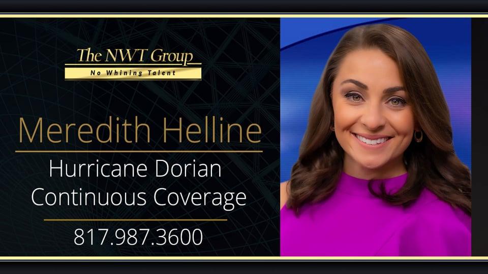 Hurricane Dorian Continuous Coverage