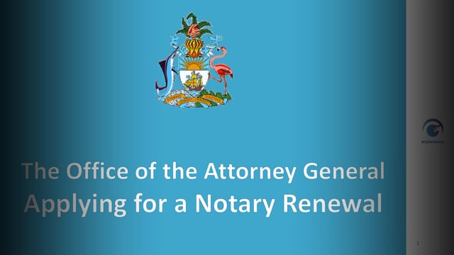 Applying for Notary Renewal