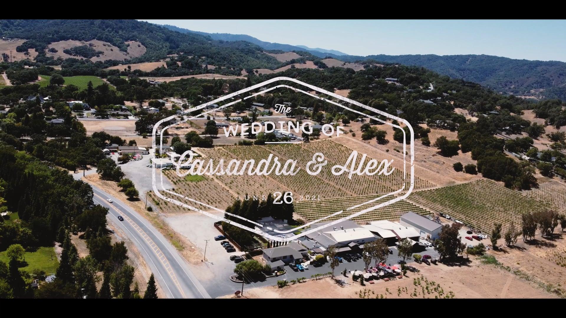 Cassandra & Alex Wedding   Cinematic Highlight Reel