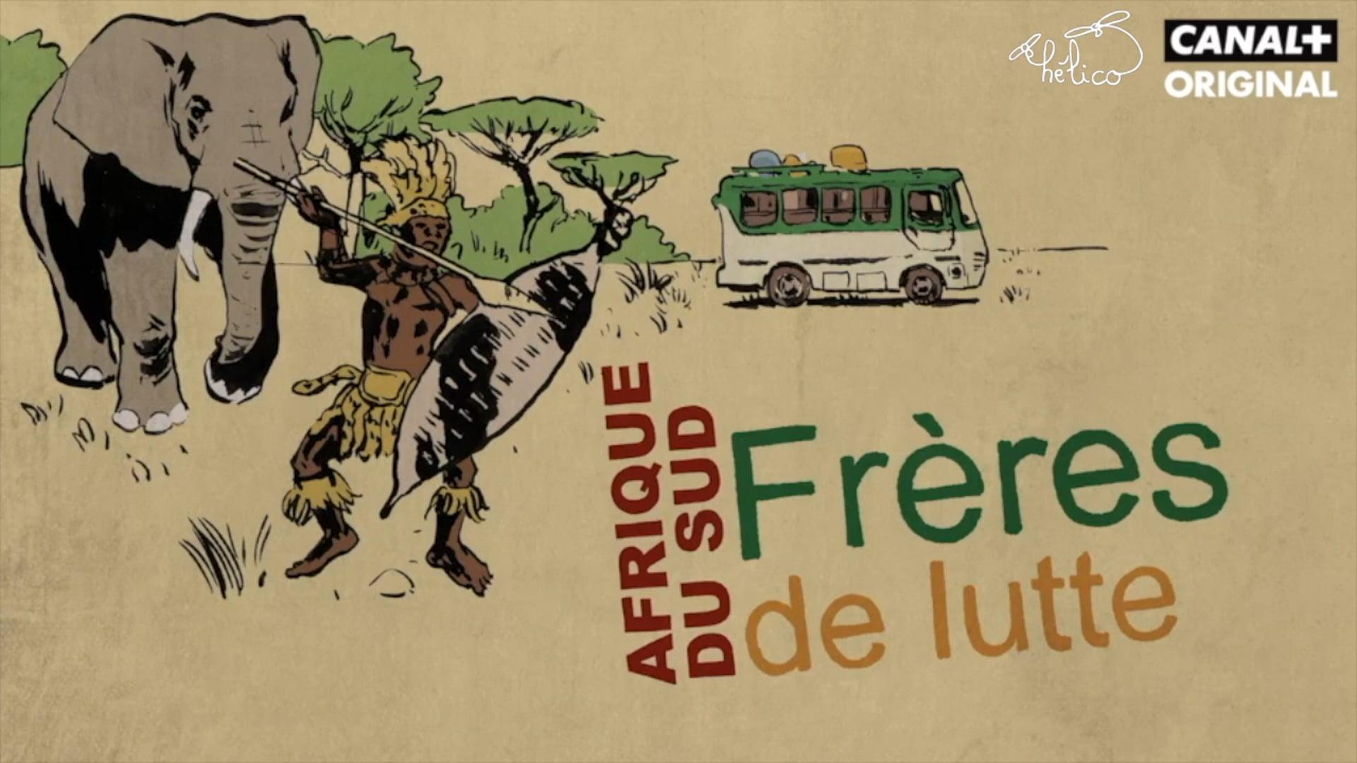 TRAILER Les Routes de Lindigo : FRÈRES DE LUTTE - Afrique du Sud